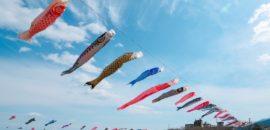 【垂井町】相川水辺公園で350匹の鯉のぼりを見てきた!桜が咲けば最高の撮影スポットかも!