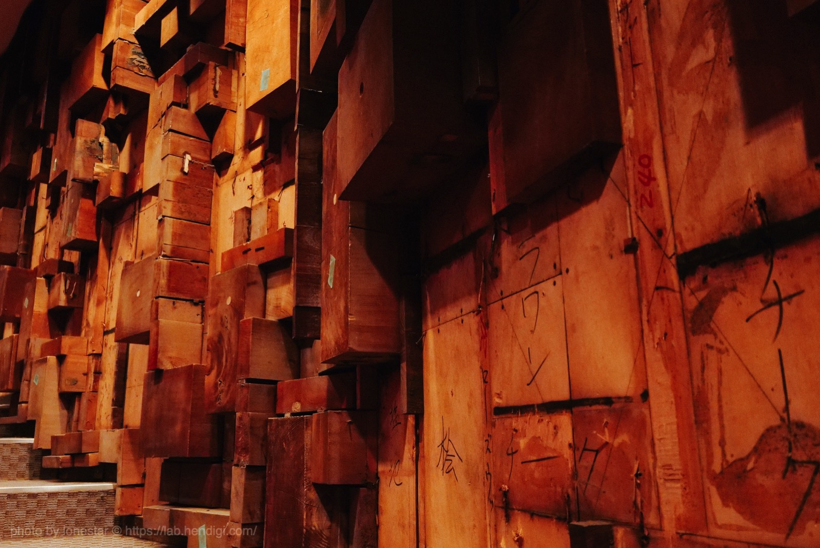中日劇場 壁