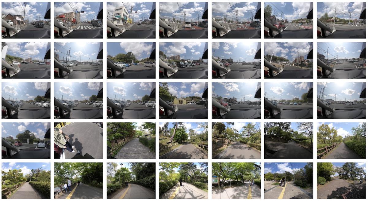 GoPro タイムラプスフォト 使い方
