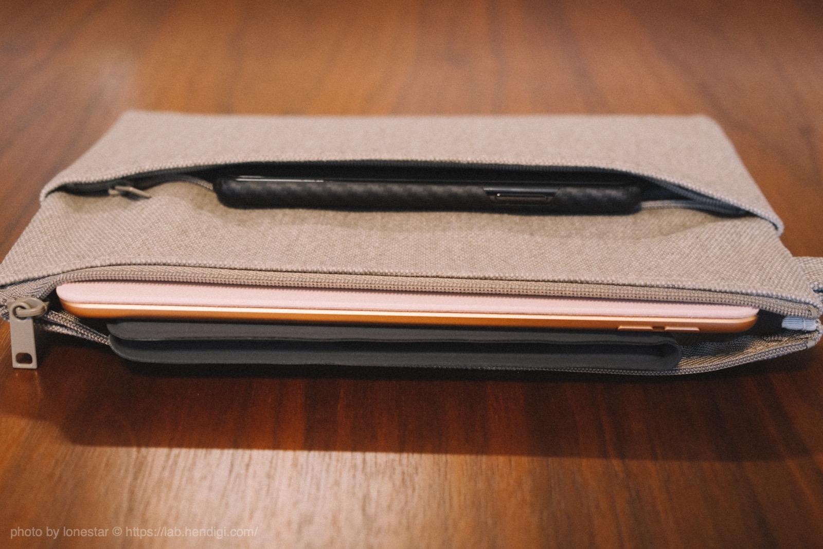 無印良品  iPad mini ケース