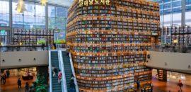 【韓国】巨大な本棚がインスタで人気!ピョルマダン図書館に行ってきました!