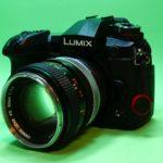 LUMIX G9 PRO オールドレンズ