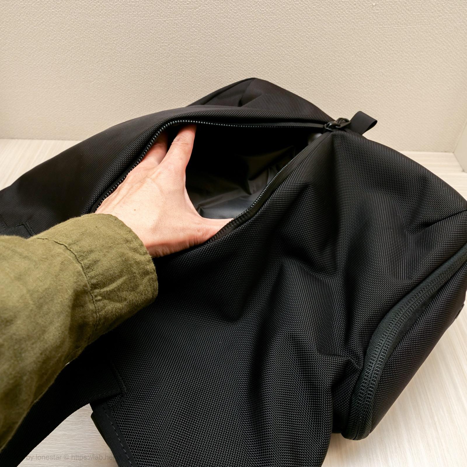 Aer トートバッグ ポケット