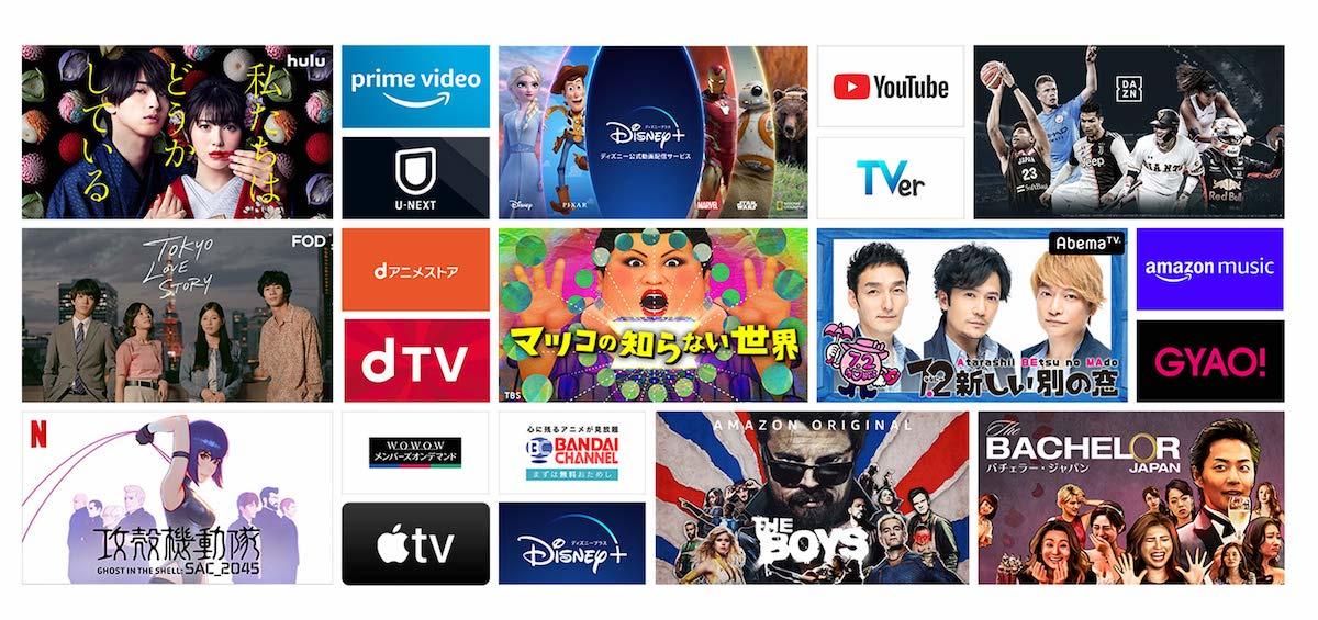 Fire TV Stick 動画