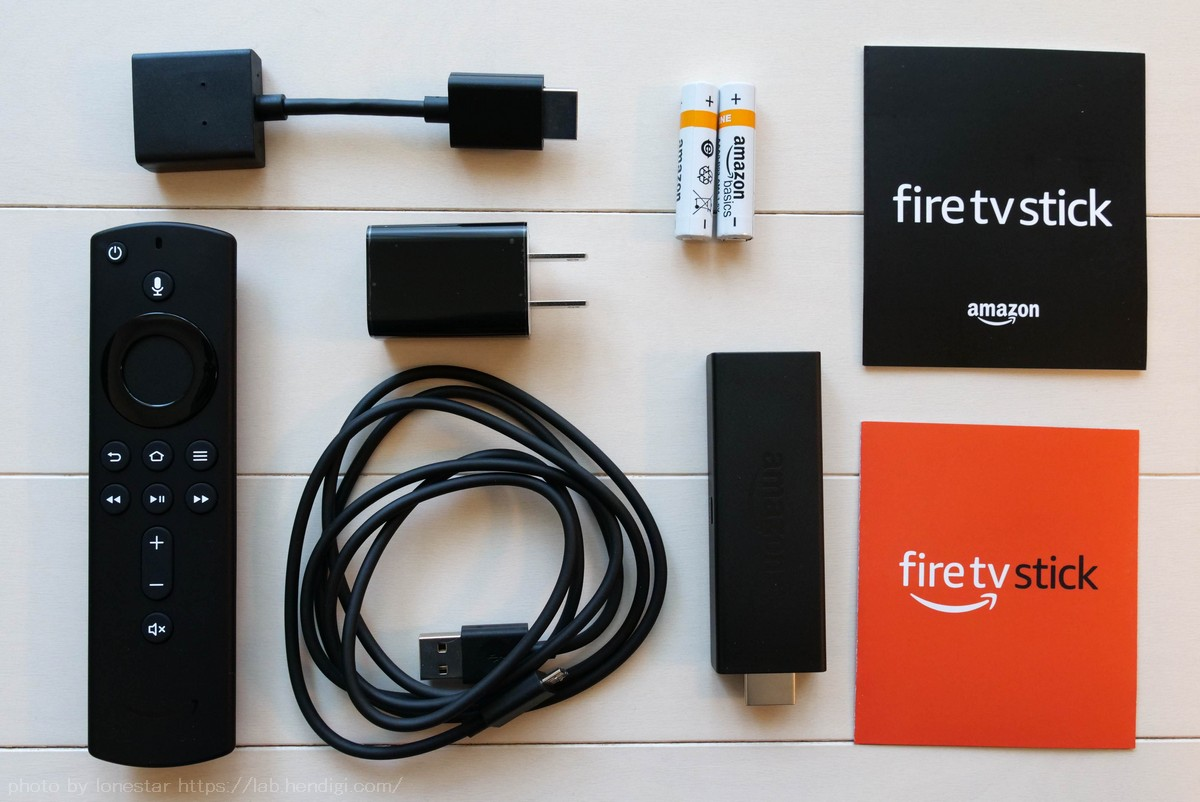 Fire TV Stick レビュー