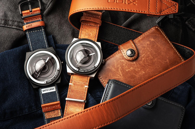 レンズモチーフ 腕時計