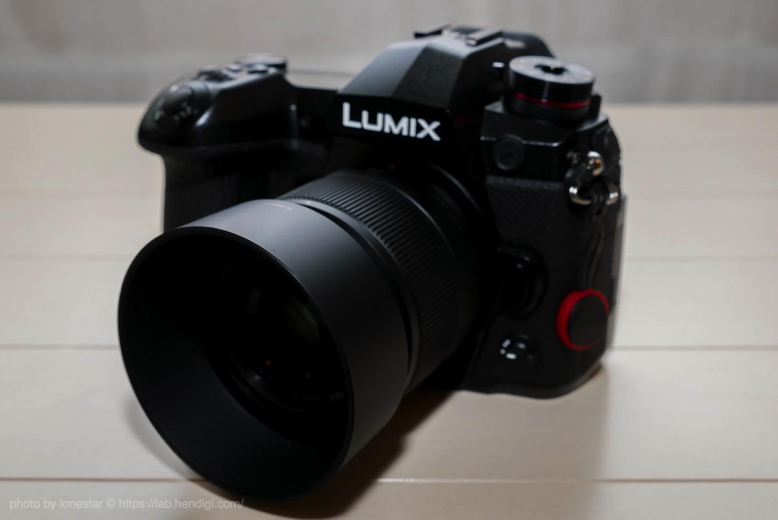 LUMIX G 25mm  F1.7 レンズフード