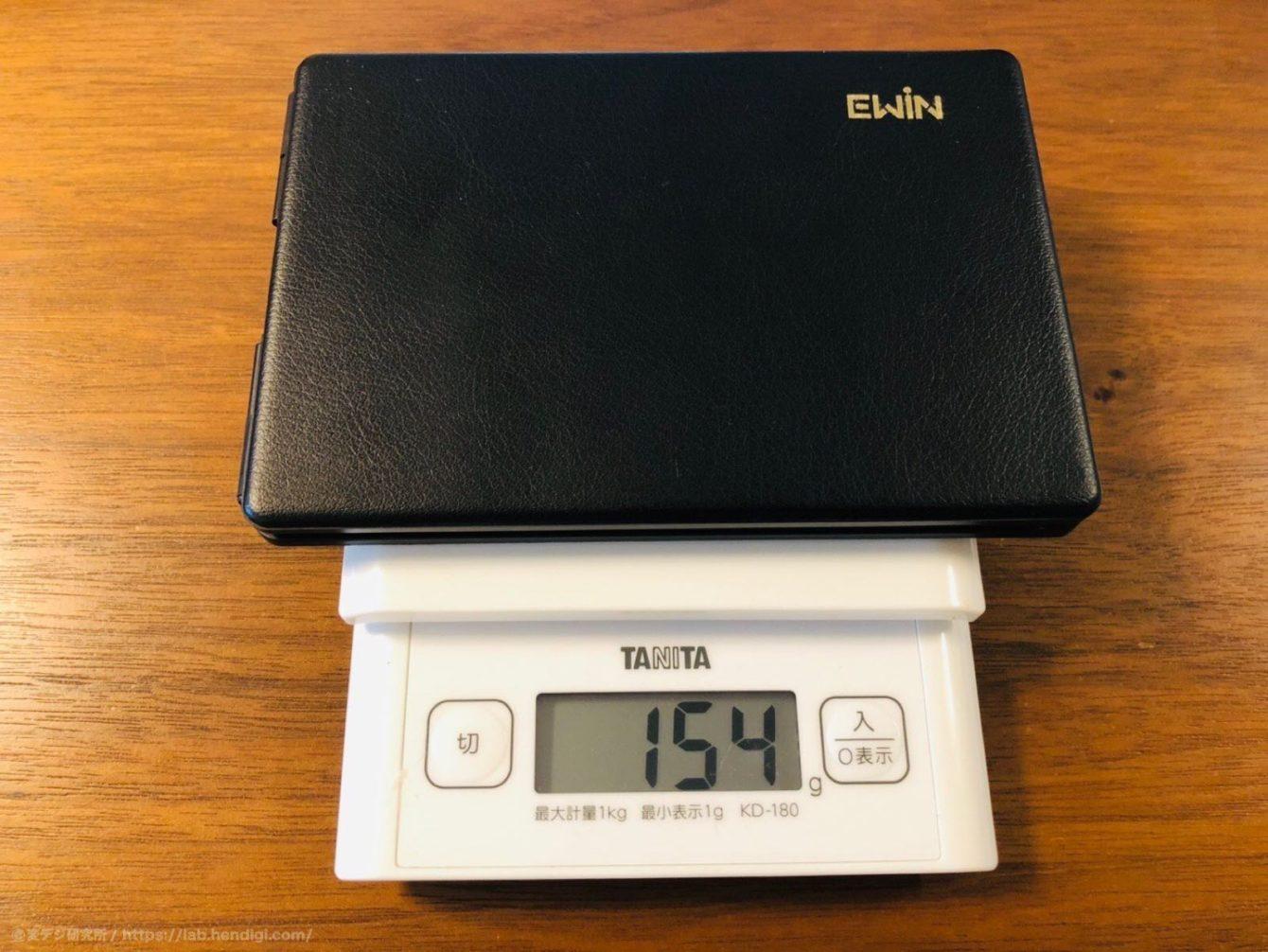 Ewin キーボード 重さ