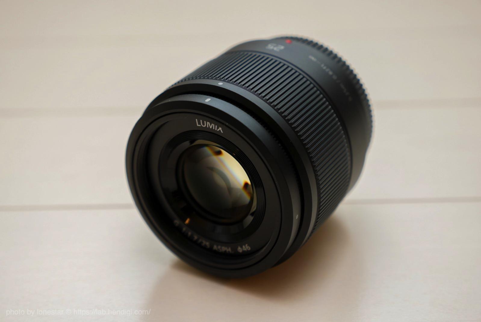 LUMIX G 25mm F1.7