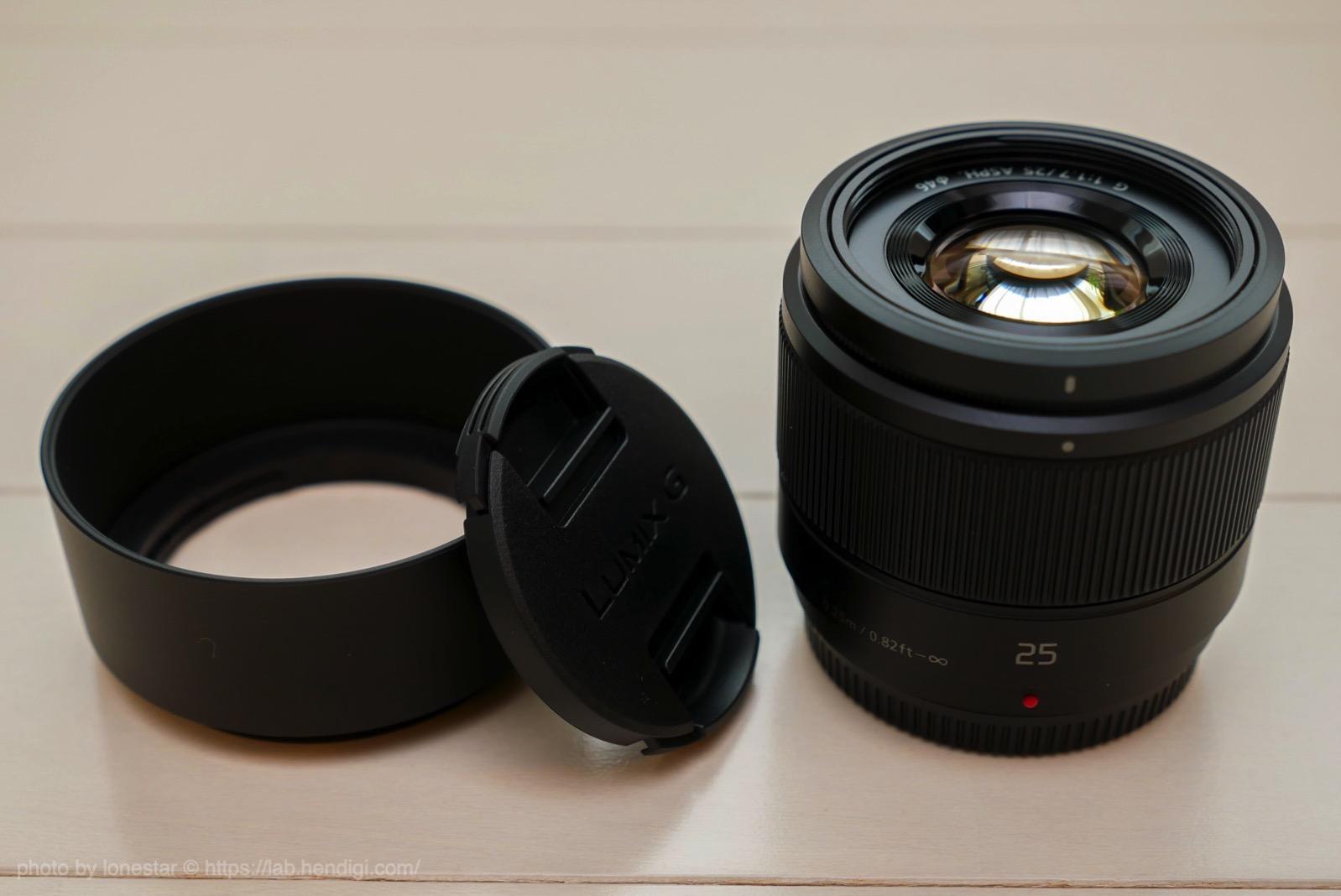 LUMIX G 25mm F1.7 レビュー