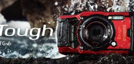 オリンパスが海外で防水デジタルカメラ「TG-6」を発表しました!水中顕微鏡モードと新型フィッシュアイコンバーターが良さそう!