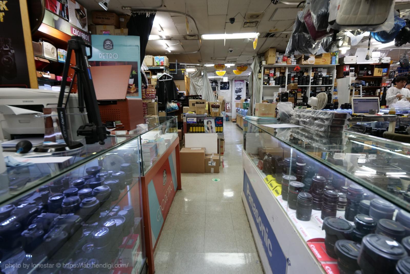 韓国 中古カメラ