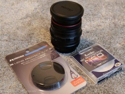 HD PENTAX-DA 20-40mmF2.8-4ED Limited DC WR レンズフード レンズキャップ