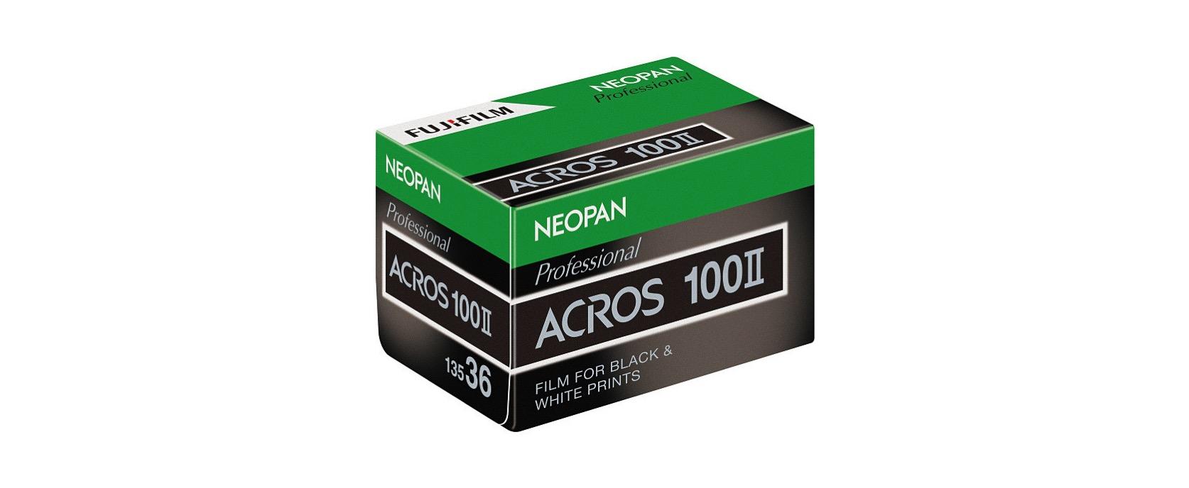 ネオパン 100 ACROS II