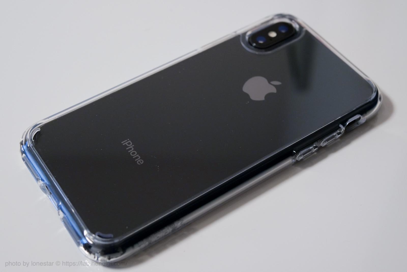 Spigen iPhone X ケース レビュー