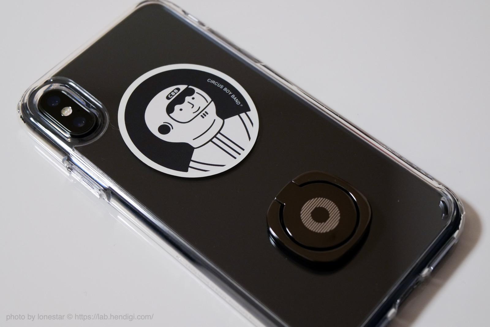 iPhone 透明ケース バンカーリング レビュー