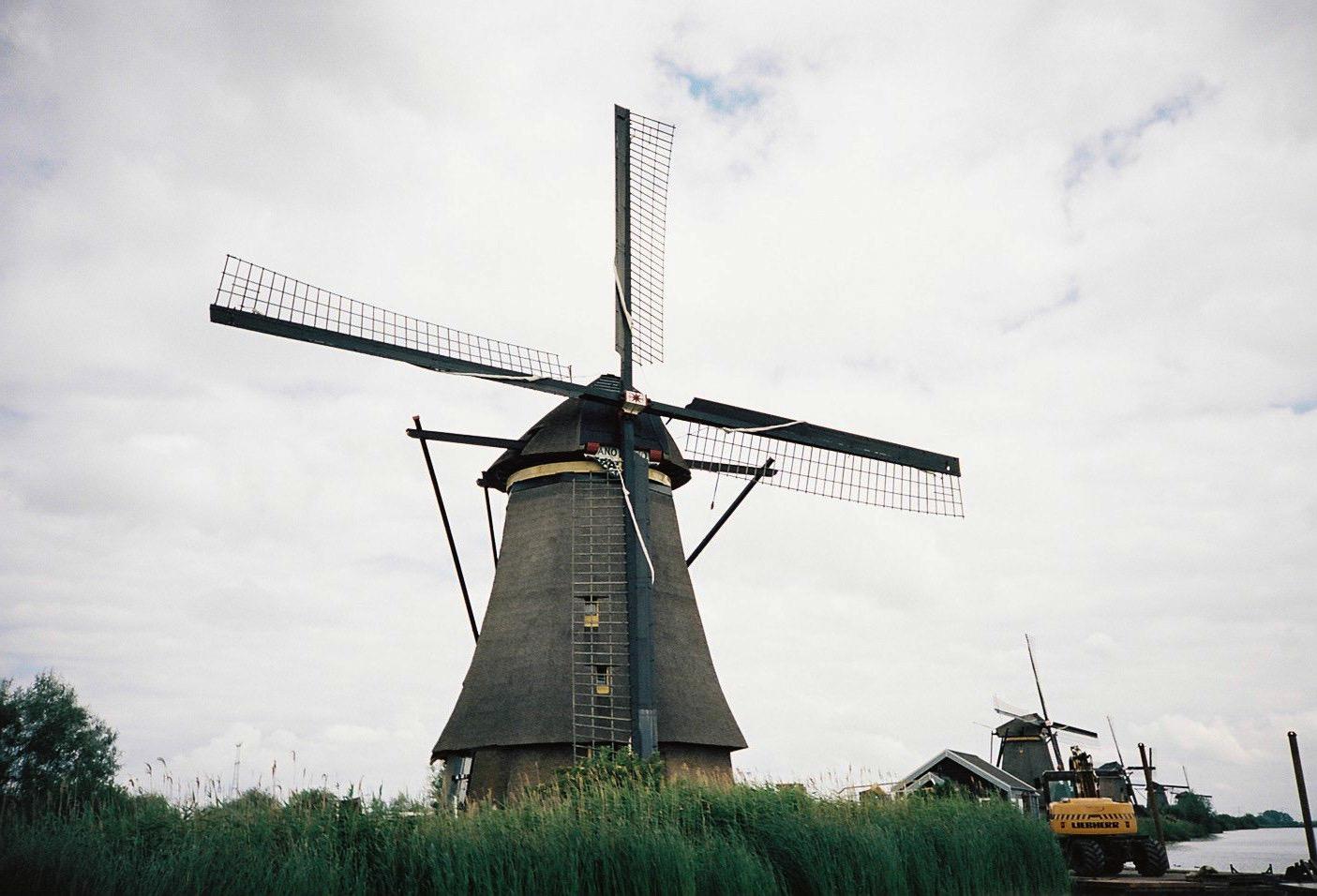 オランダ 風車