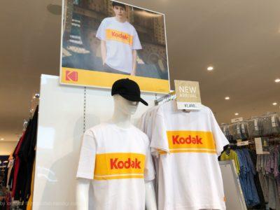 GU コダック Tシャツ レビュー