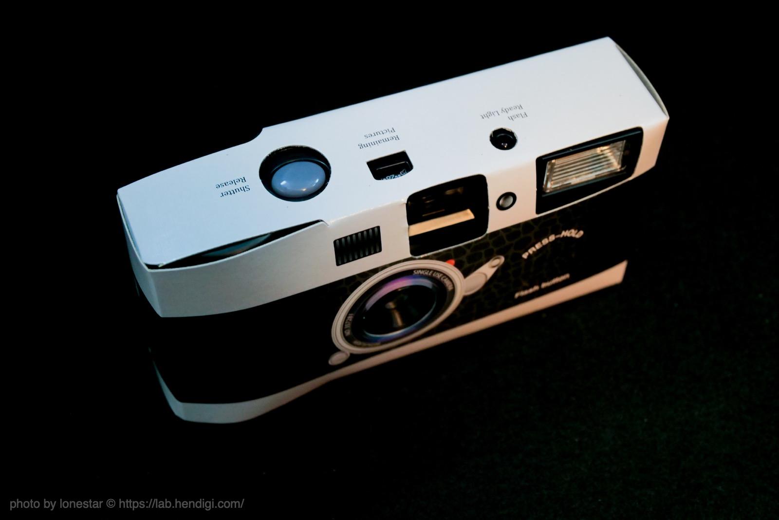 イギリス レンズ付きフィルム