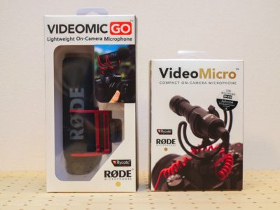 RODE VideoMic GO レビュー