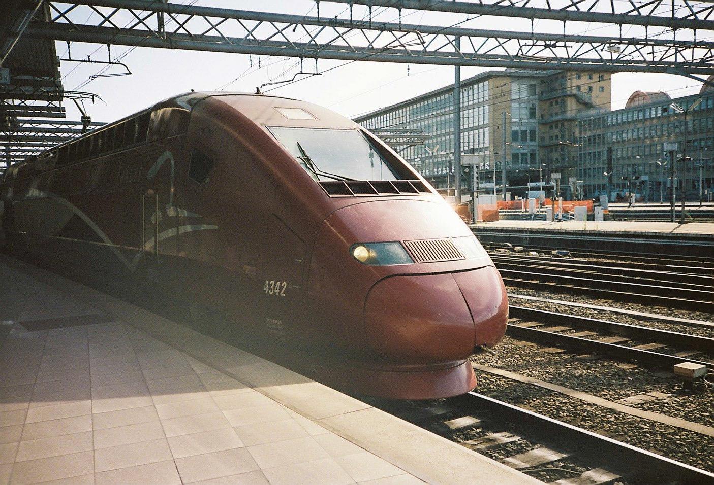 ヨーロッパ 電車 旅行