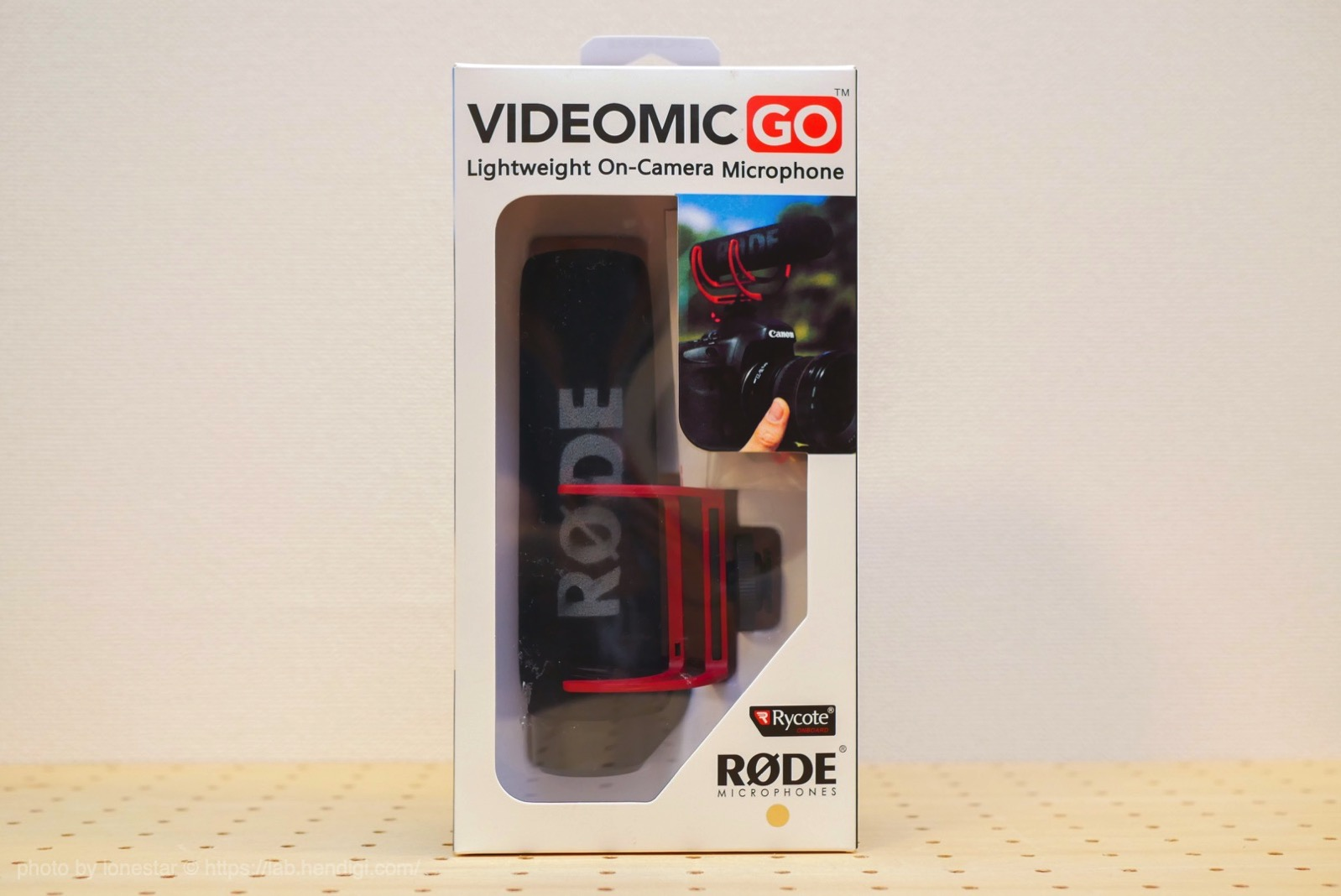 RODE VideoMic GO レビュー