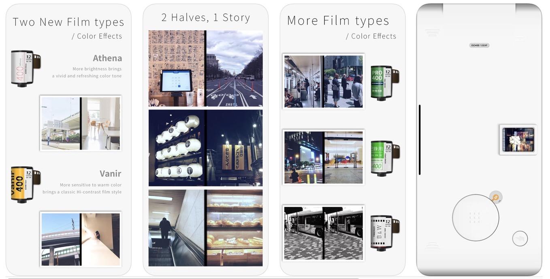 ハーフカメラ アプリ レビュー