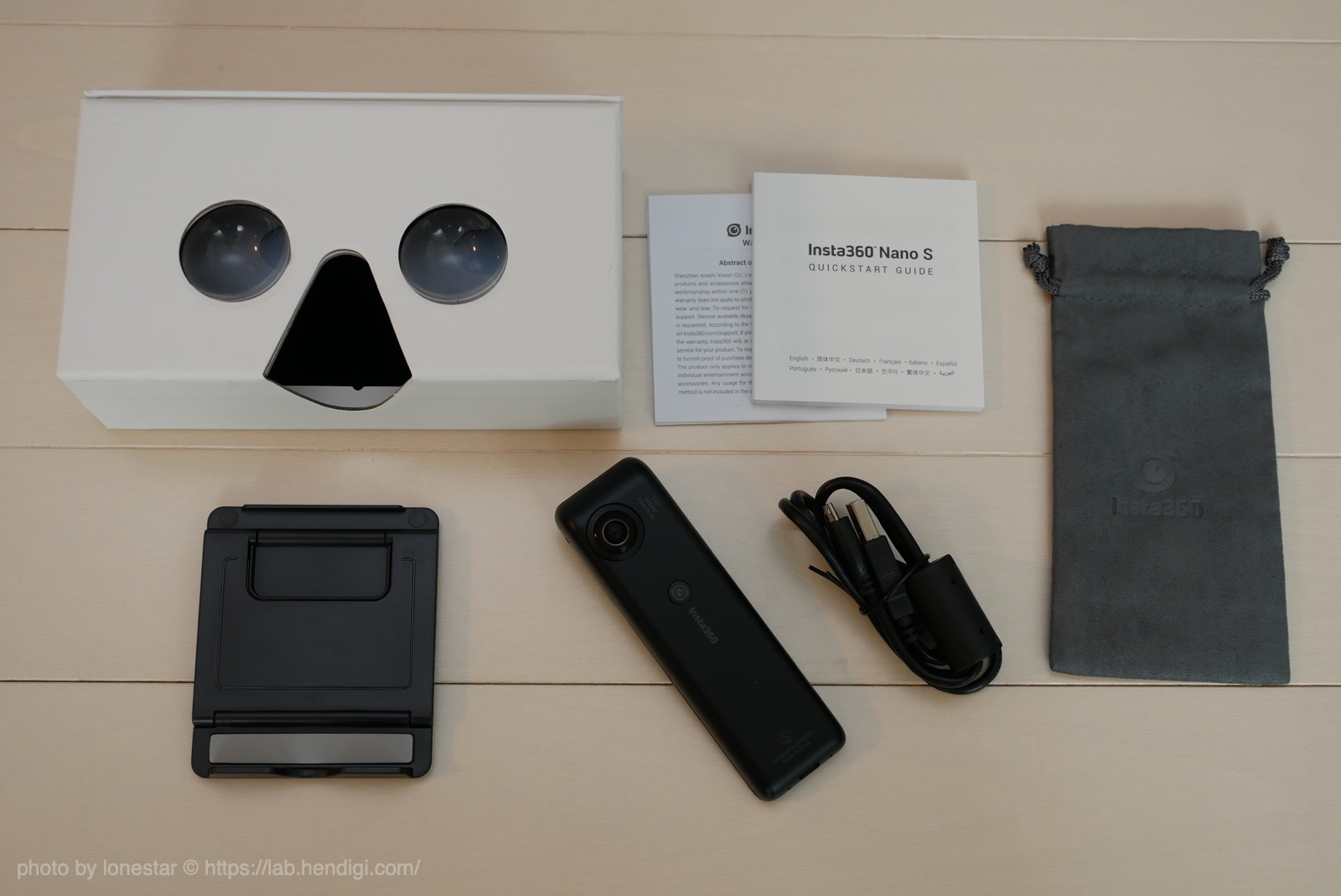 Insta360 Nano S VRゴーグル