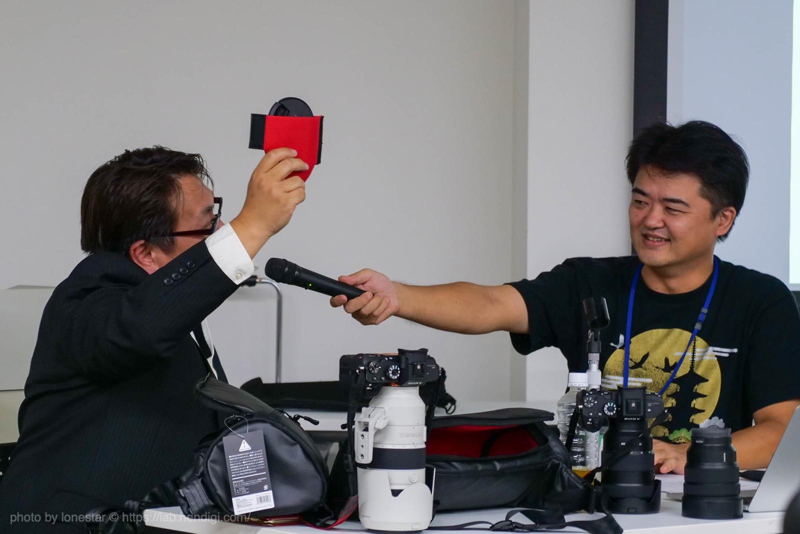 例のカメラバッグ 仕切り板