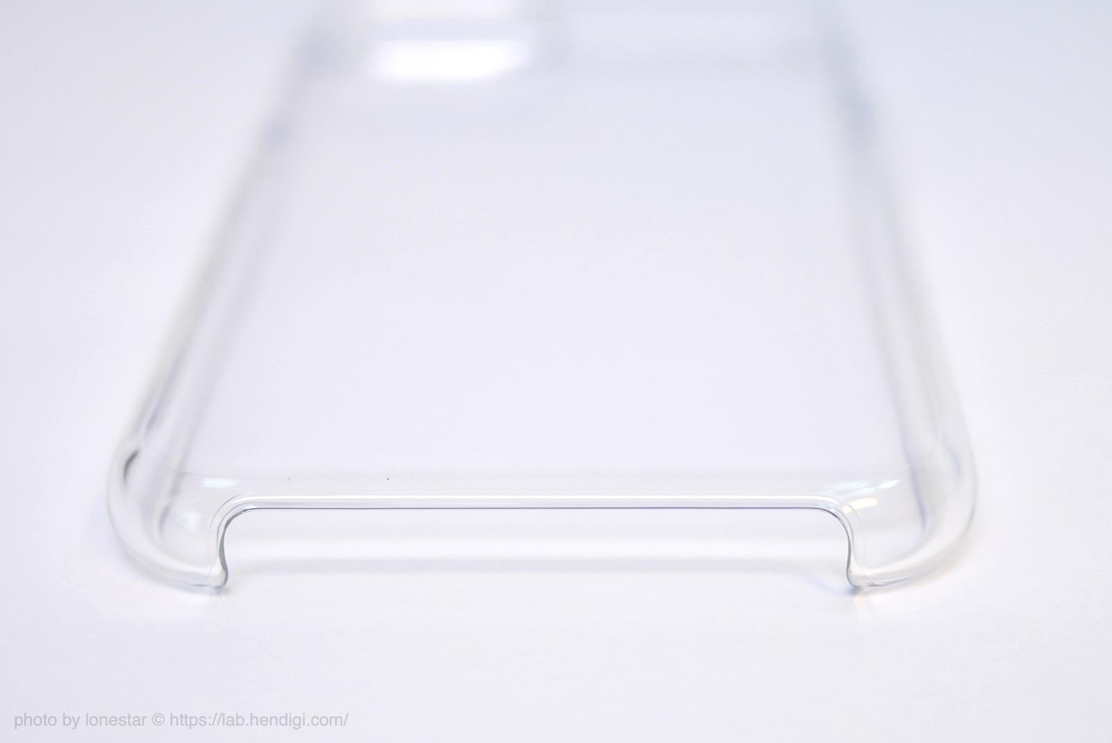 iPhone 11 Pro クリアケース 下部