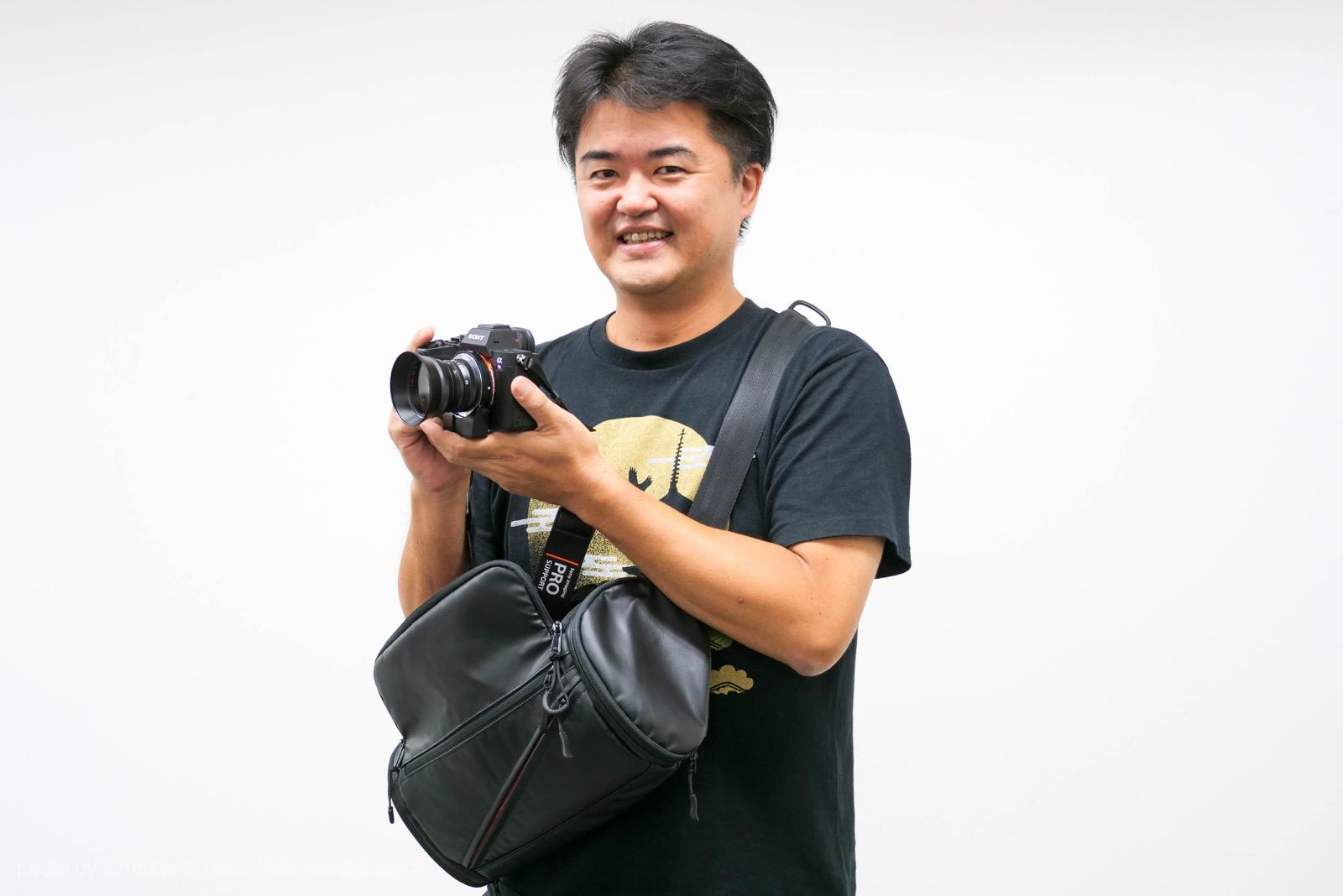 例のカメラバッグ レビュー