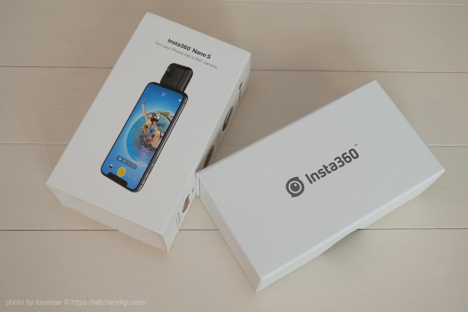 Insta360 Nano S:レビュー