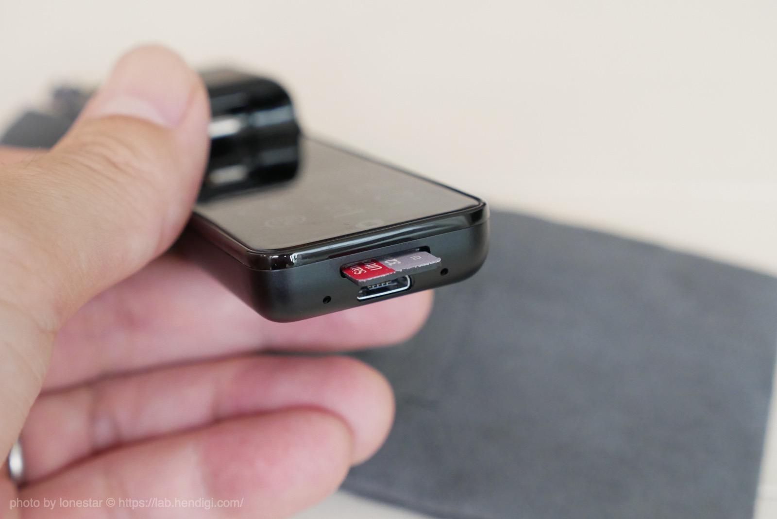 Insta360 Nano S SDカード