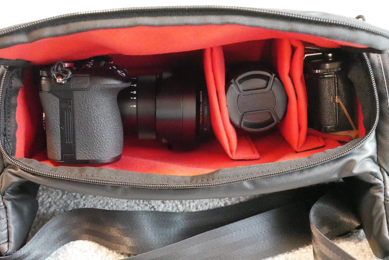 ジェットダイスケ カメラバッグ 使い方