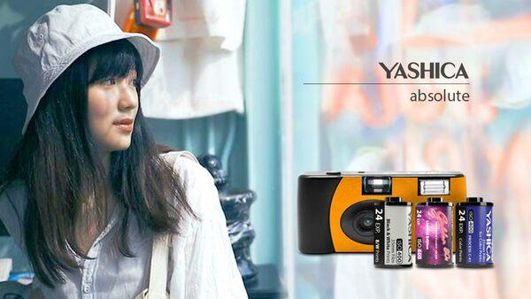 Sub2YASHICA MF-1 35mmフィルムカメラ