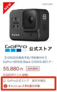 楽天市場 GoPro