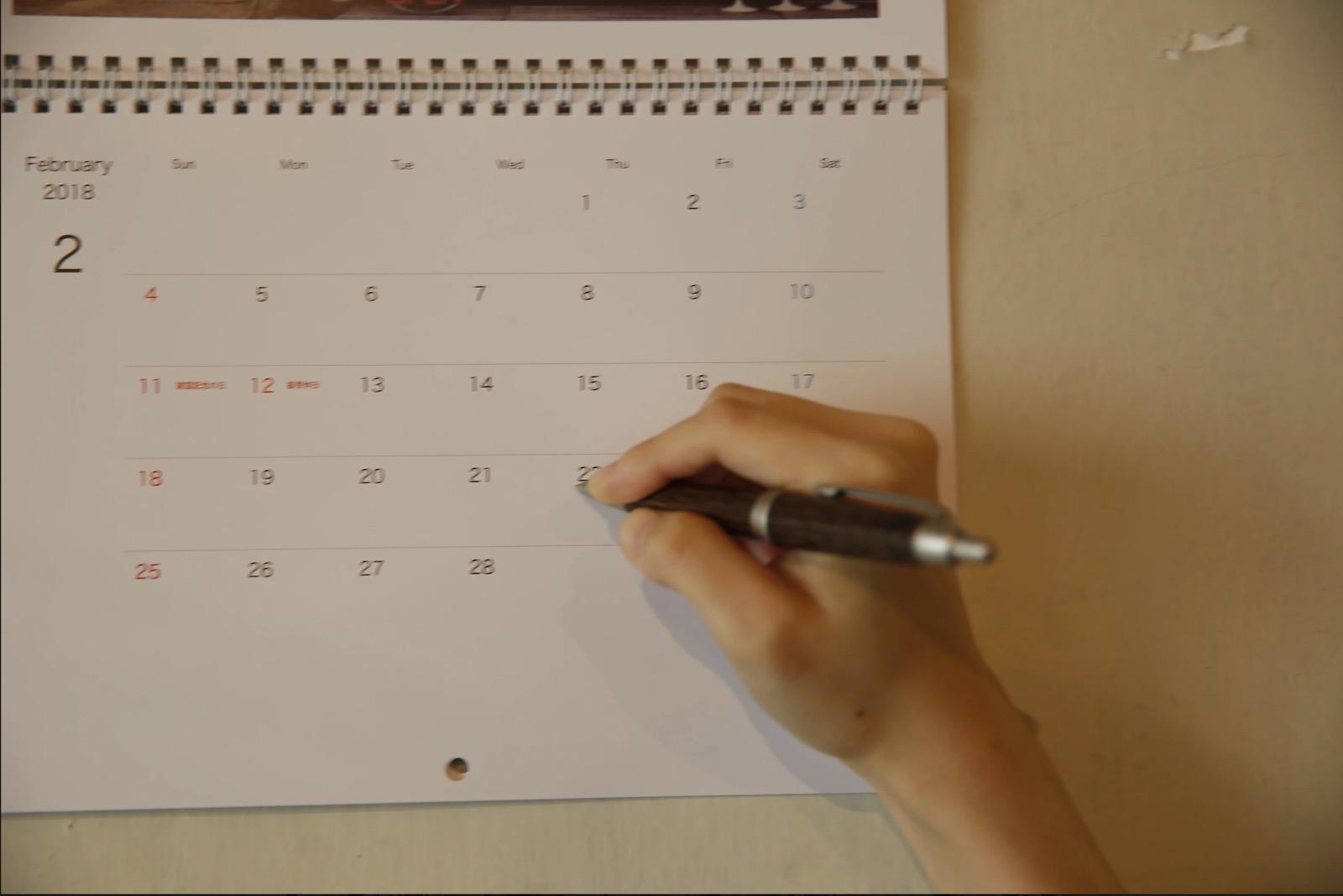 オリジナルフォトカレンダー