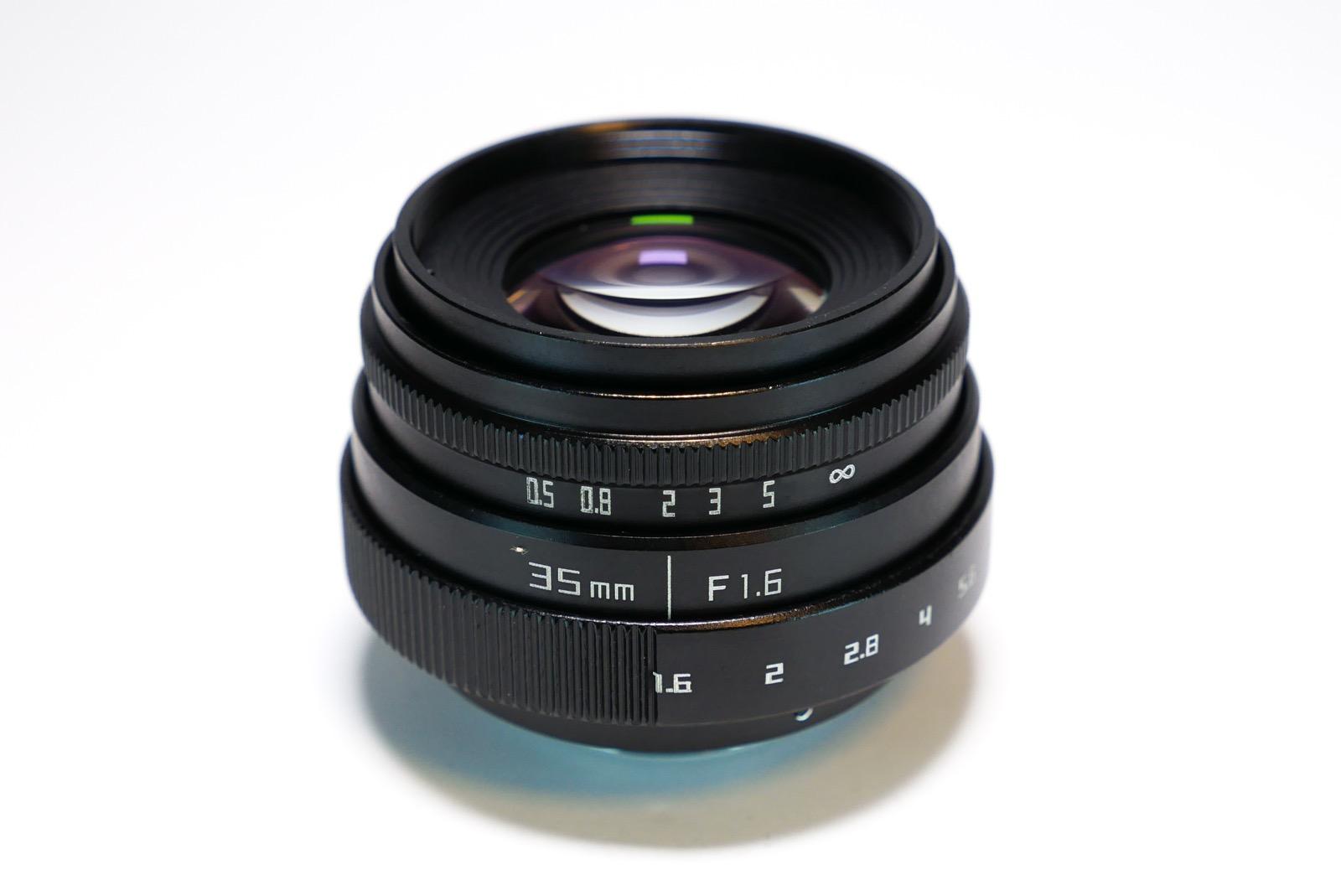 Eマウント 35mm F1.6 レンズ
