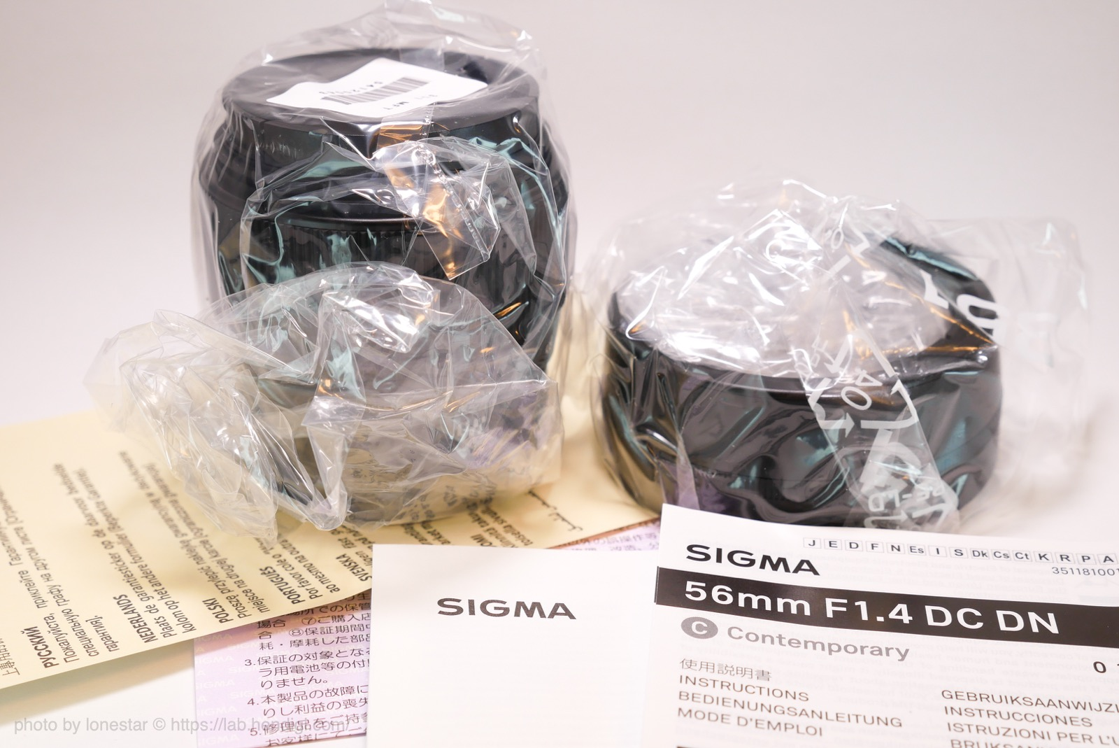 SIGMA 56mm F1.4 DC DN レビュー