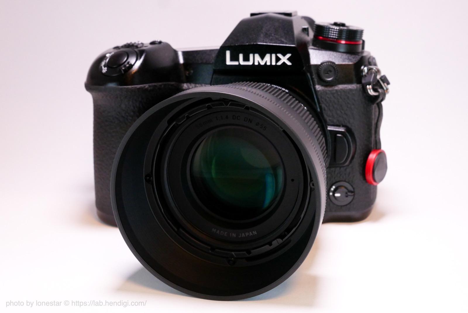 LUMIX G9 PRO シグマ 56mm F1.4 DC DN