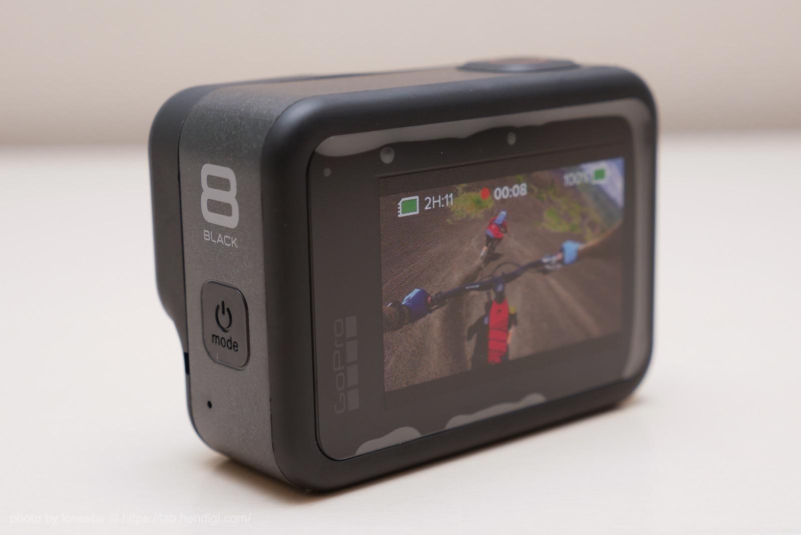 GoPro8 背面