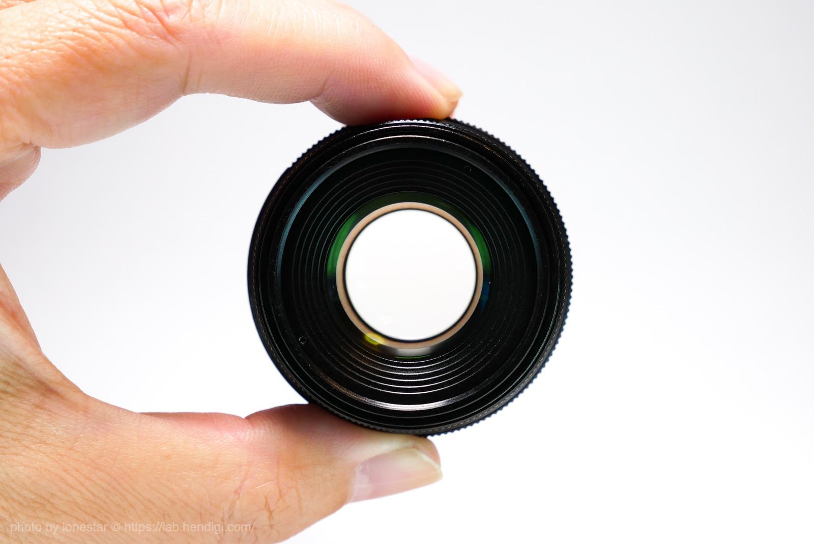 F1.6 レンズ