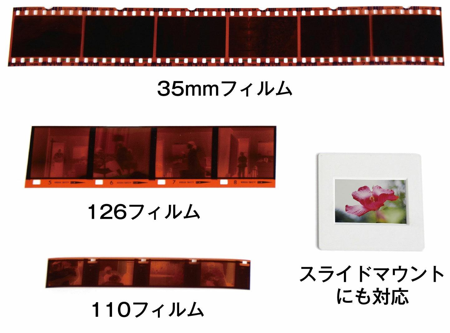 フィルムスキャナー 簡単