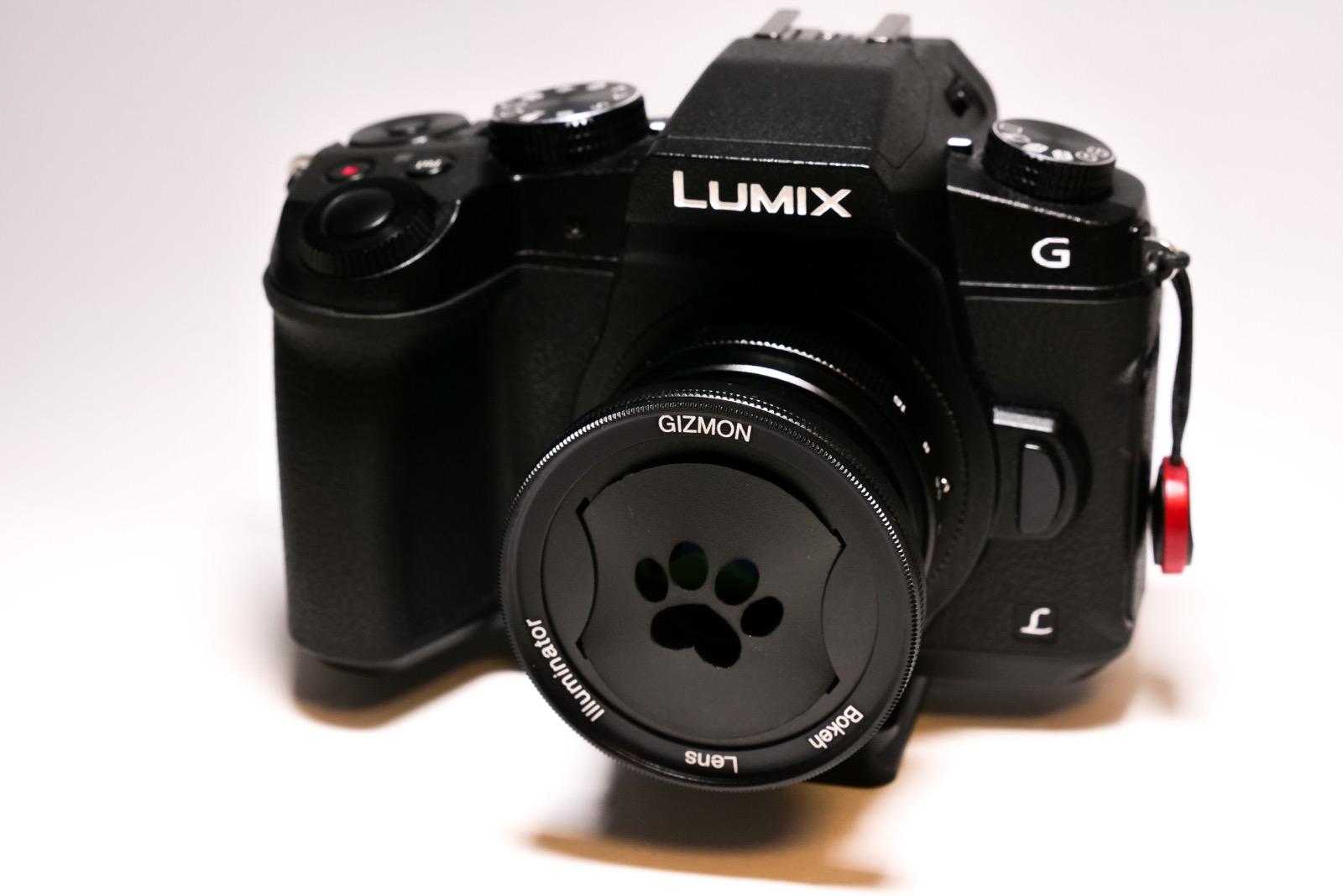 GIZMON Bokeh Lens Illuminator マイクロフォーサーズ