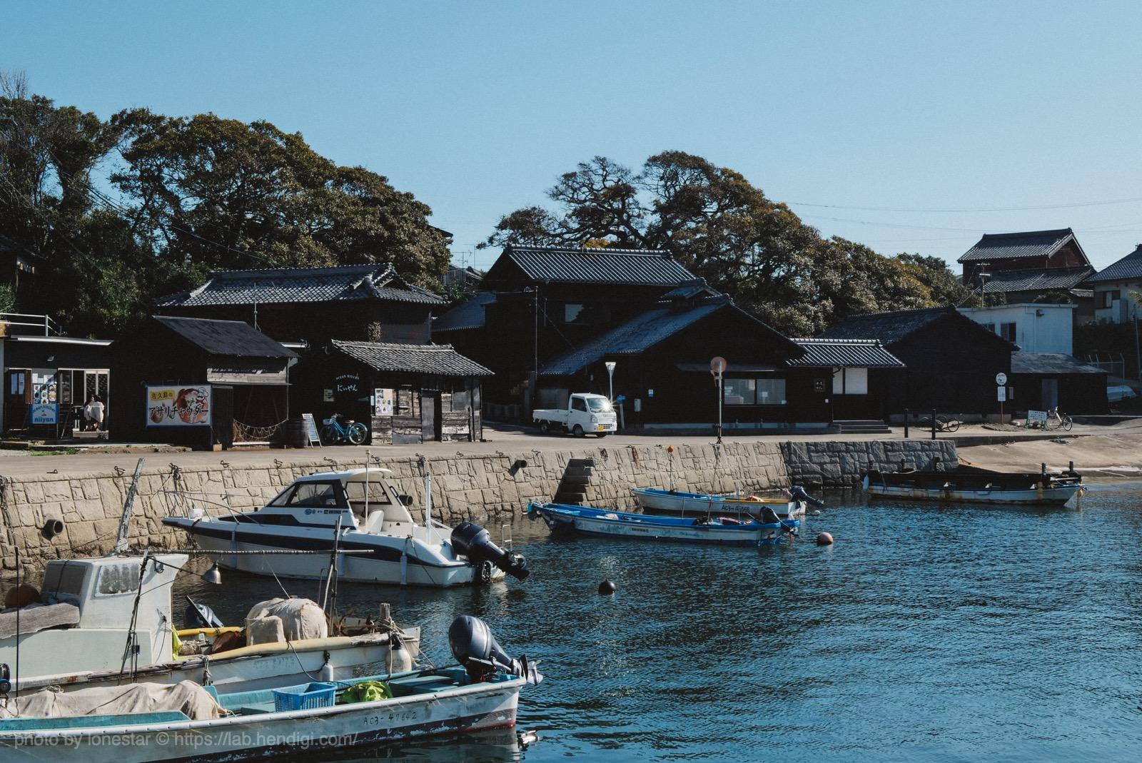 佐久島 港
