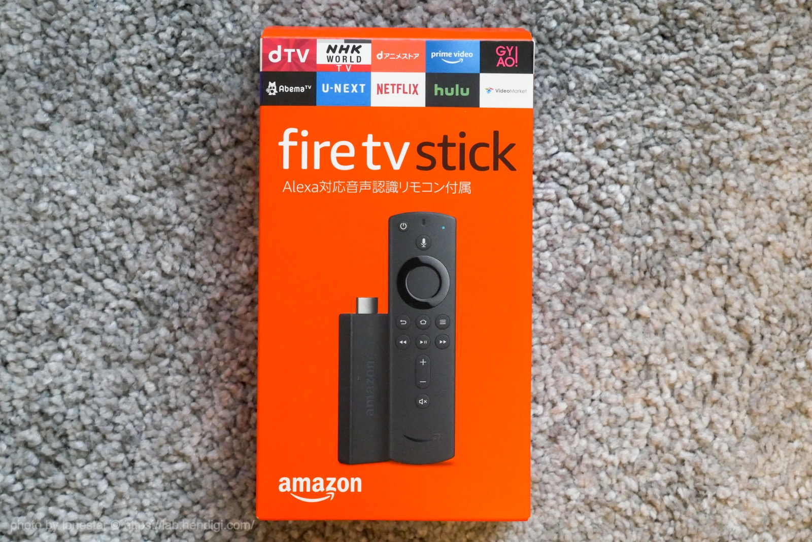 Fire TV Stick 使い方