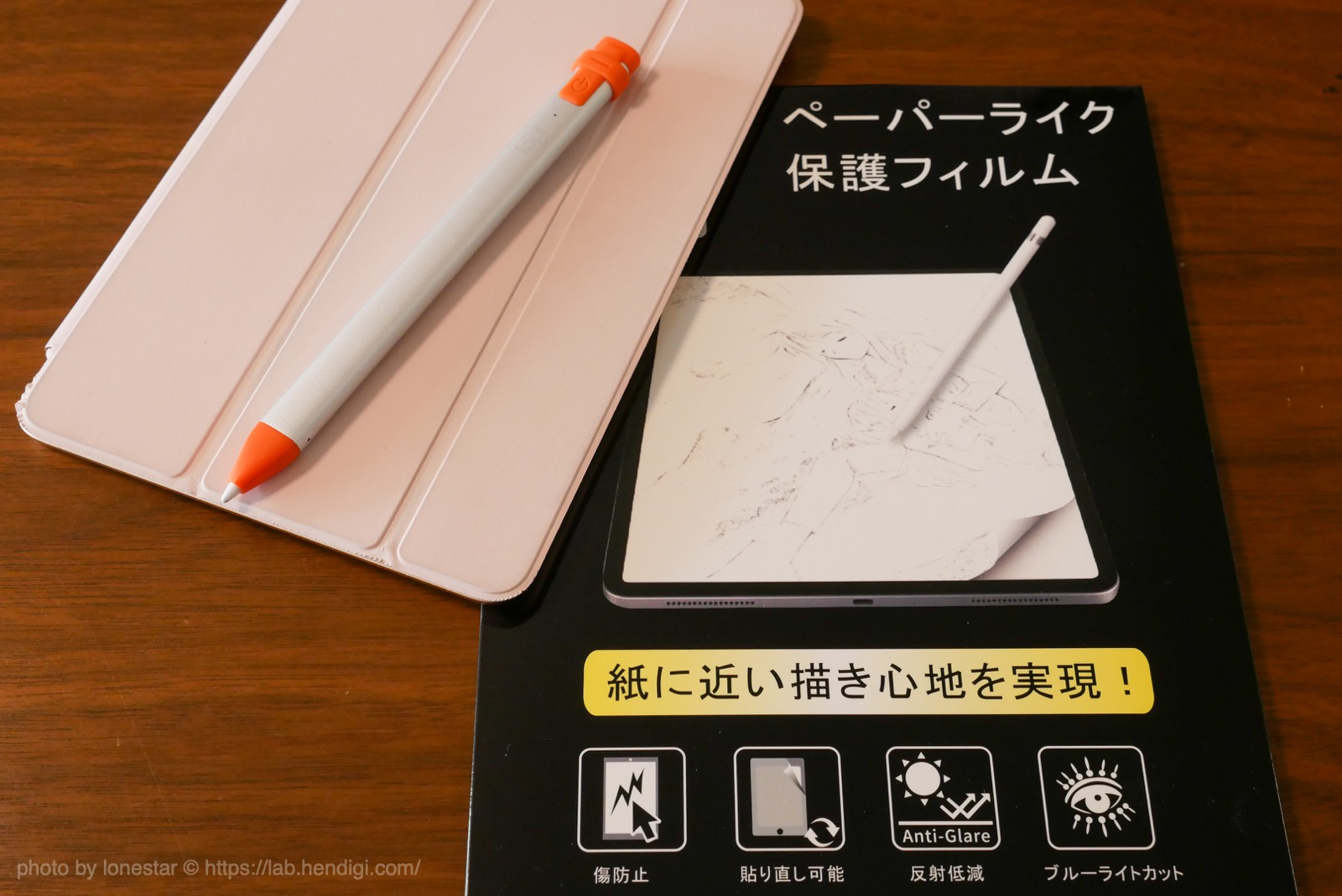 iPad 液晶保護 ペーパーライク