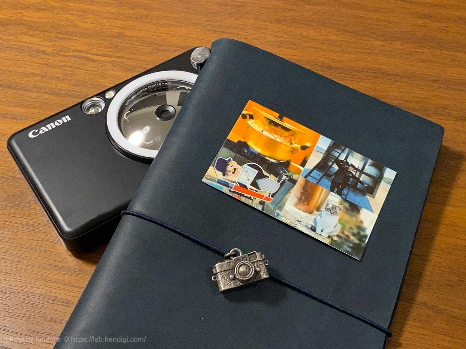 インスピック 手帳 写真