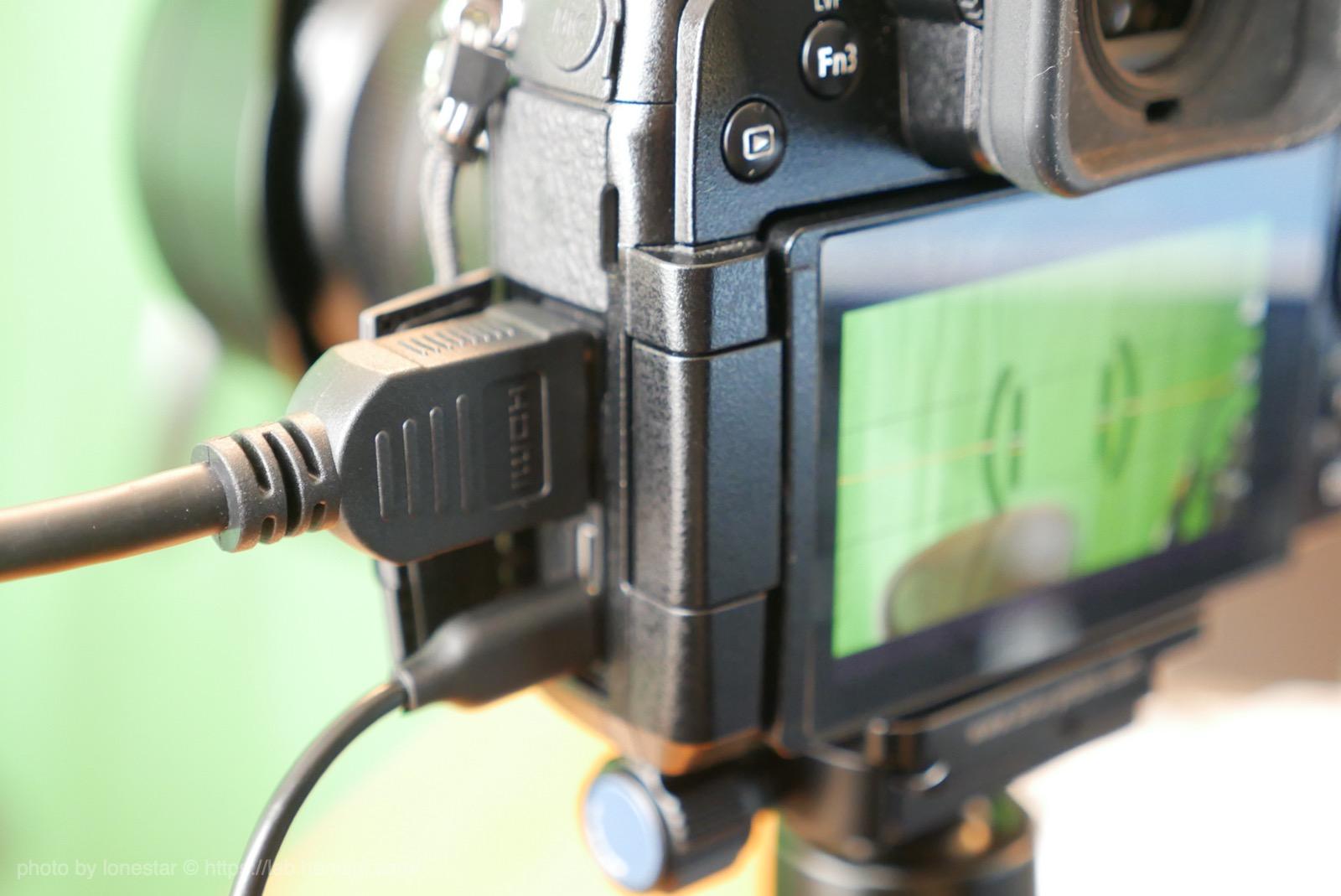 生放送 カメラ 電源