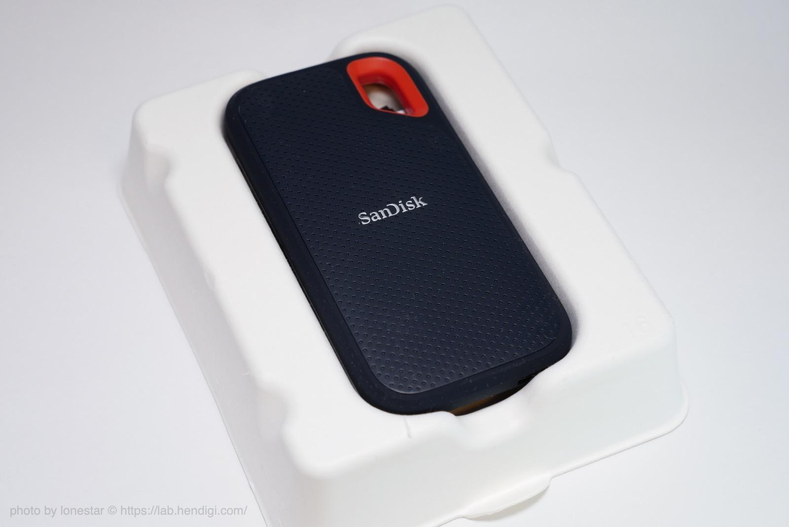 サンディスク SSD エクストリーム ポータブル